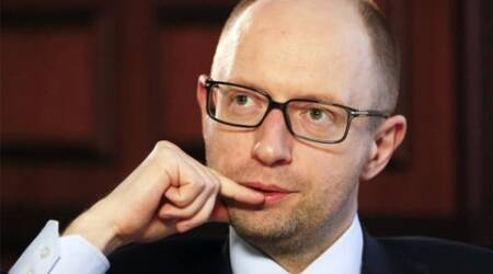 Ukrainian prime minister tenders his resignation in Parliament