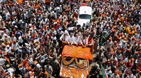 Narendra Modi was denied permission for holding a rally in a crowded area here on Thursday. (AP)