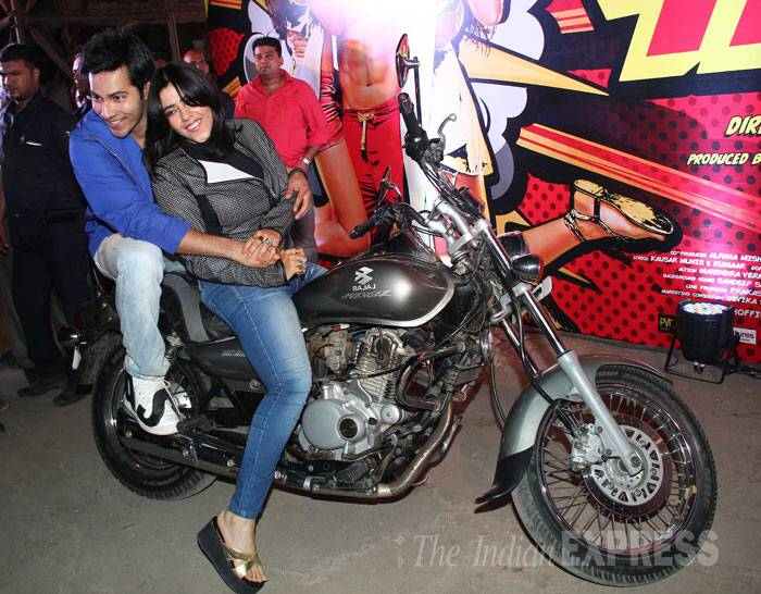 Ekta Kapoor takes her turn to ride? (Photo: Varinder Chawla)