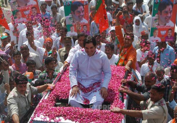 Varun Gandhi files nomination from Sultanpur LS seat