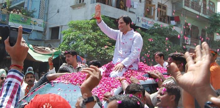Varun Gandhi files nomination from Sultanpur LS seat