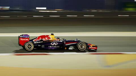 Four time Formula One champion Sebastian Vettel was criticized by McLaren's boss Ron for swearing at the Bahrain Grand Prix. (Reuters)