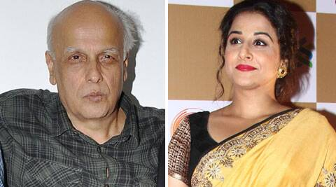 Mahesh Bhatt has chosen Vidya for his upcoming film 'Humari Adhuri Kahani'.