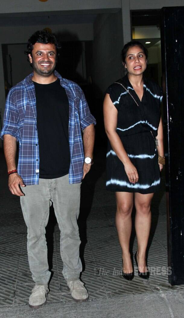 Varun Dhawan, Ekta Kapoor, Vaani Kapoor party with Huma Qureshi's brother Saqib