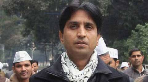 Vishwas said that he would file his nominations tomorrow after a 12-km 'padyatra' from Amethi to Gauriganj.