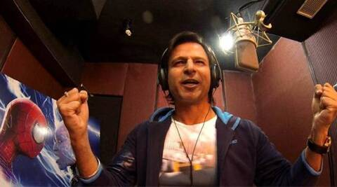 Vivek Oberoi has lent his voice to Electro in the Hindi version of Hollywood film 'The Amazing Spider-Man 2'.