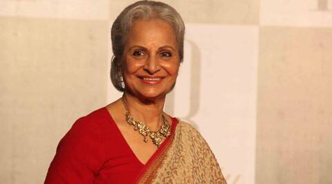 Waheeda Rehman says she is not keen on working in movies anymore.