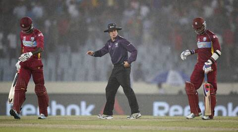 Heavy rainfall and hailstorm washed away West Indies' chances of retaining the coveted World T20 trophy. (AP)