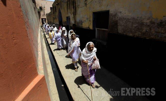 In Vrindavan, widows too are proud voters