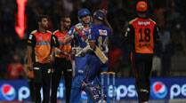 Rajasthan Royals huff and puff to four-wicket win