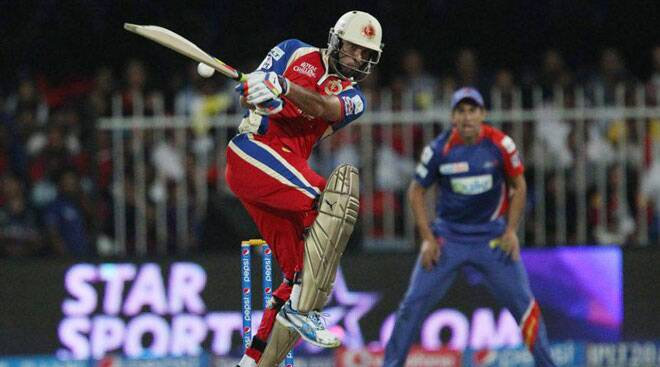 Yuvraj roars back to form