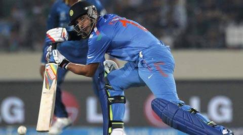 When Yuvraj Singh walked off after scoring just 11 off 21 balls, he looked a shadow of the batsman he can be (Reuters)