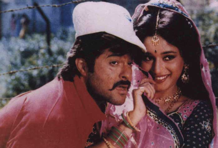 In 1989, her first release was Subhash Ghai's movie 'Ram Lakhan', in which she was paired once again with Anil Kapoor. The film became a superhit and went on to become the second highest grossing film of the year.