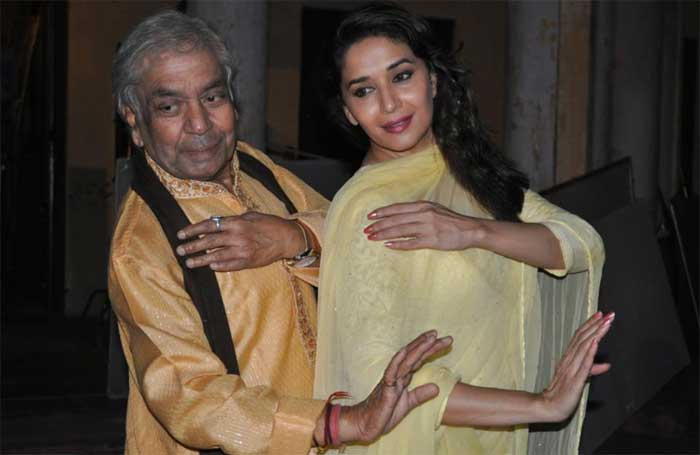 "Renowned Kathak dancer Pandit Birju Maharaj, who choreographed Madhuri Dixit in Devdas for the song Kaahe Chhed calls her ""the best dancer in Bollywood"" due to her versatility'. Pt. Birju Maharaj also choreographed a mujra for Madhuri in her film 'Dedh Ishqiya'."