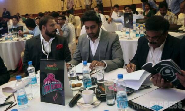 Not off to Cannes? Abhishek Bachchan still in India and is busy with Kabaddi
