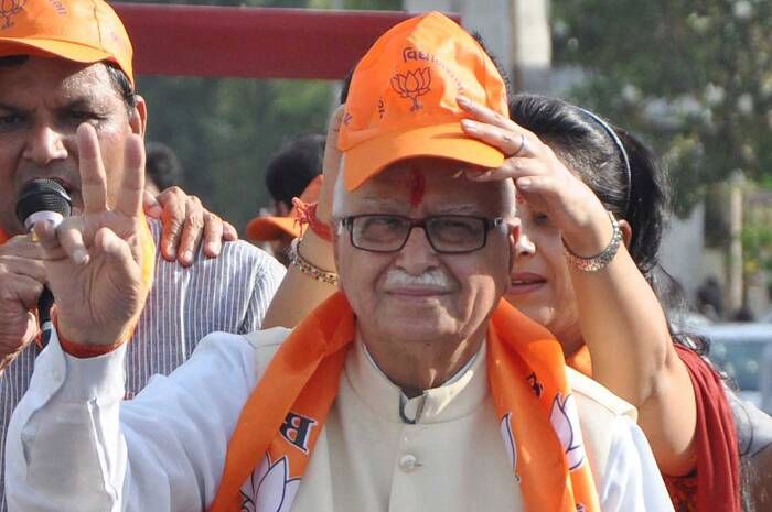 Senior BJP leader L K Advani has won from the Gandhinagar seat in Gujarat.