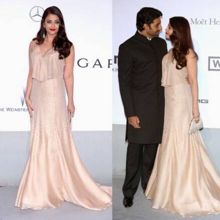 Aishwarya Rai, husband Abhishek Bachchan steal the show at amfAR in Cannes 2014