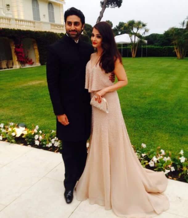 Aishwarya Rai, husband Abhishek Bachchan steal the show at amfAR in Cannes 2014