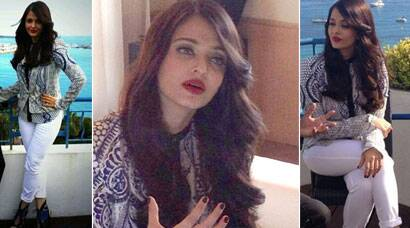 Cannes 2014: Aishwarya Rai Bachchan makes her first appearance