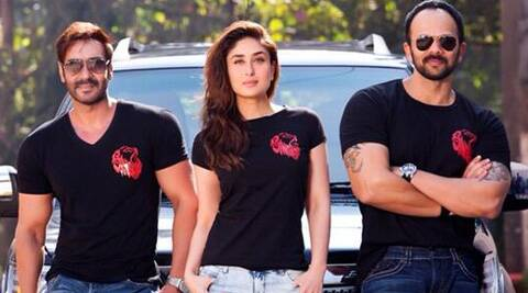 Ajay Devgn and Kareena Kapoor along with Rohit Shetty will launch the promo.