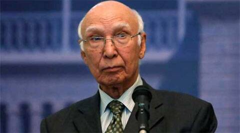 All contentious issues were discussed during the 45-minute meeting between Sharif and Modi in New Delhi, said Sartaj Aziz. Reuters
