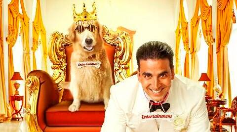 Akshay Kumar is out with his new comic antics in upcoming film 'It's Entertainment'.