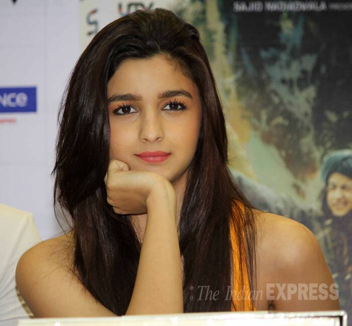 Alia Bhatt received much praise for her performance of Veera in the film. (Source: Varinder Chawla)