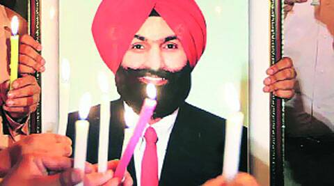 Excise and Taxation Officer Ranjit Singh. (Source: Express photo)