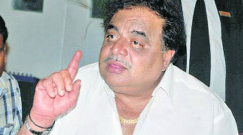 Kannada film star and housing minister M H Ambareesh.