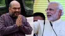 Modi praises Amit shah for winning more seats in UP than Congress across 30states
