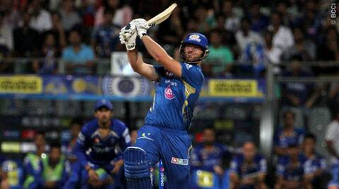 The New Zealand all-rounder smashed a whirlwind 44-ball 95 to help MI chase down 190 in 14.4 overs. (Source: IPL/BCCI)