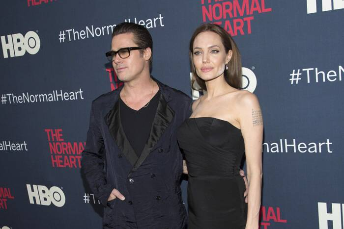 Did she forget to remove it or was it deliberate? Angelina Jolie's make-up disaster