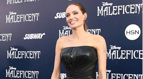 Angelina Jolie has revealed that she looks back fondly on her time with ex-husband Jonny Lee Miller.