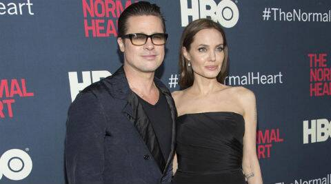 Angelina Jolie reveals that her wedding to Brad Pitt will be planned by their kids. (Source: Reuters)