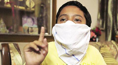 Anmol, a class X student, called the police twice.