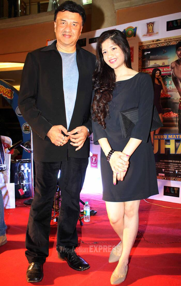 Anu Malik's outing with daughter Anmol
