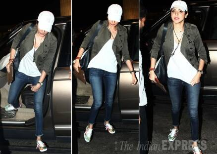 Anushka Sharma leaves for Barcelona, to join ex-beau Ranveer Singh