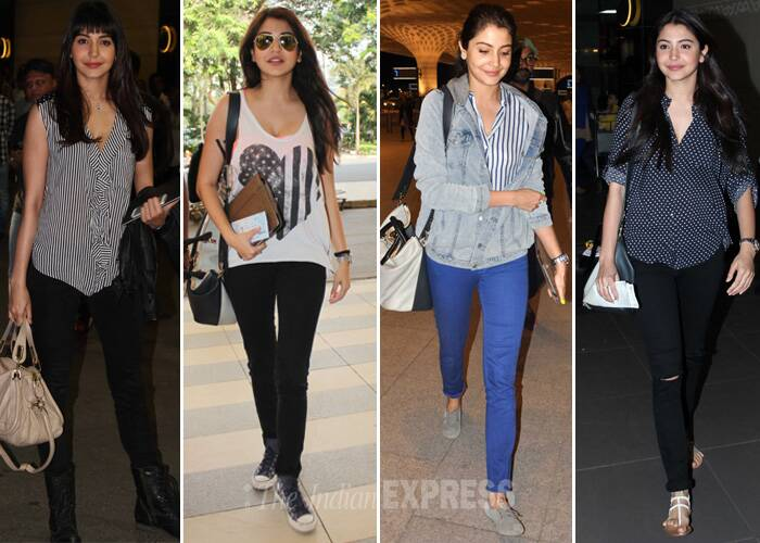 Anushka Sharma turns 26! Top 10 looks