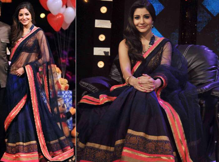 Image result for Anushka Sharma ethnic look