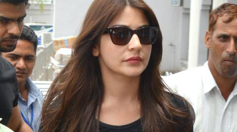 Anushka, who made headlines for her 'apparent' lip job, still seems to have the effects of her 'lip enhancement tools'!