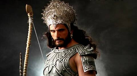 Arav Chaudhary is currently playing the role of Bhishma Pitamah in 'Mahabharat'.
