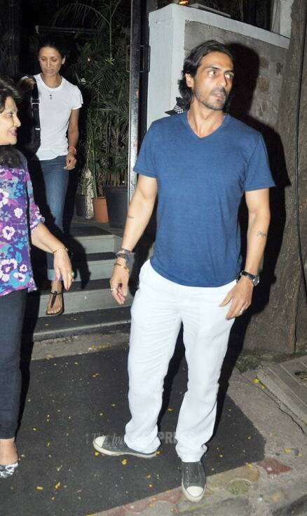 Arjun Rampal, Arjun Kapoor have a busy Wednesday