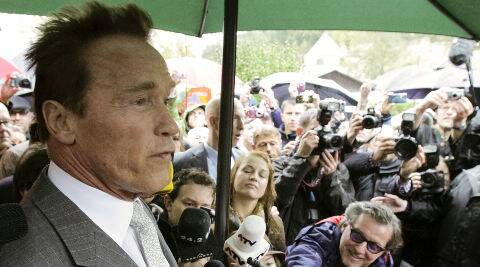 Arnold: They said 'Do you want to play Conan? I thought 'Oh it will be great to be back'. (Reuters)