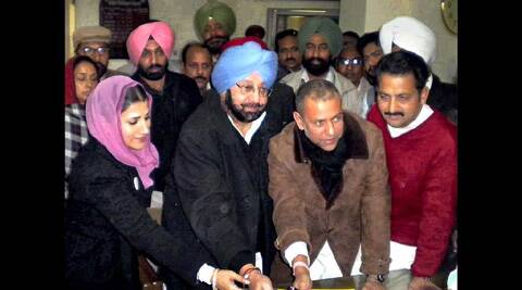 Khanna had been Amarinder's close confidant and the virtual driver of his previous campaign.