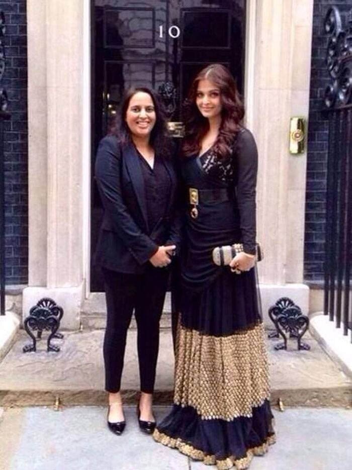 Aishwarya Rai Bachchan decks up in London