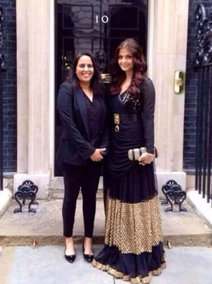 Aishwarya Rai Bachchan decks up in London