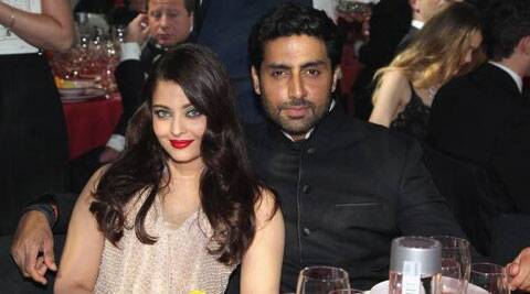 Abhishek Bachchan took a break to attend the gala dinner with wife Aishwarya.