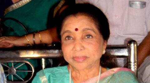 Asha Bhosle sang a song for Miss Match!