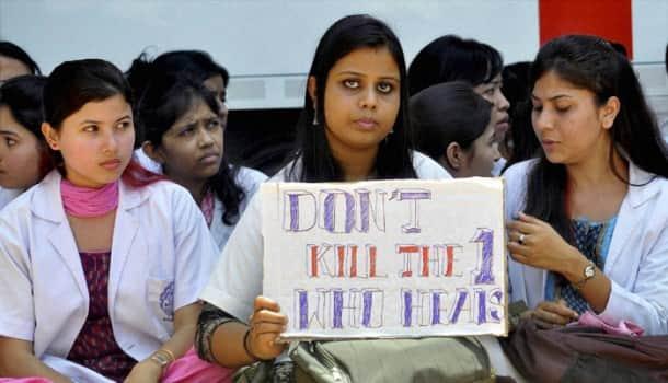 Junior doctors stage protest after ward boy kills medical student inside ICU