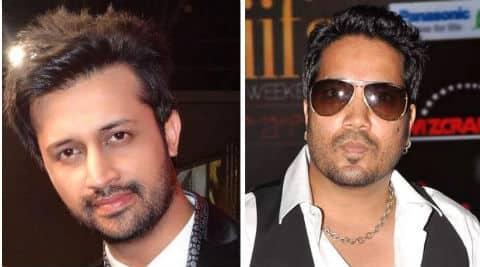 Atif Aslam and Mika Singh.